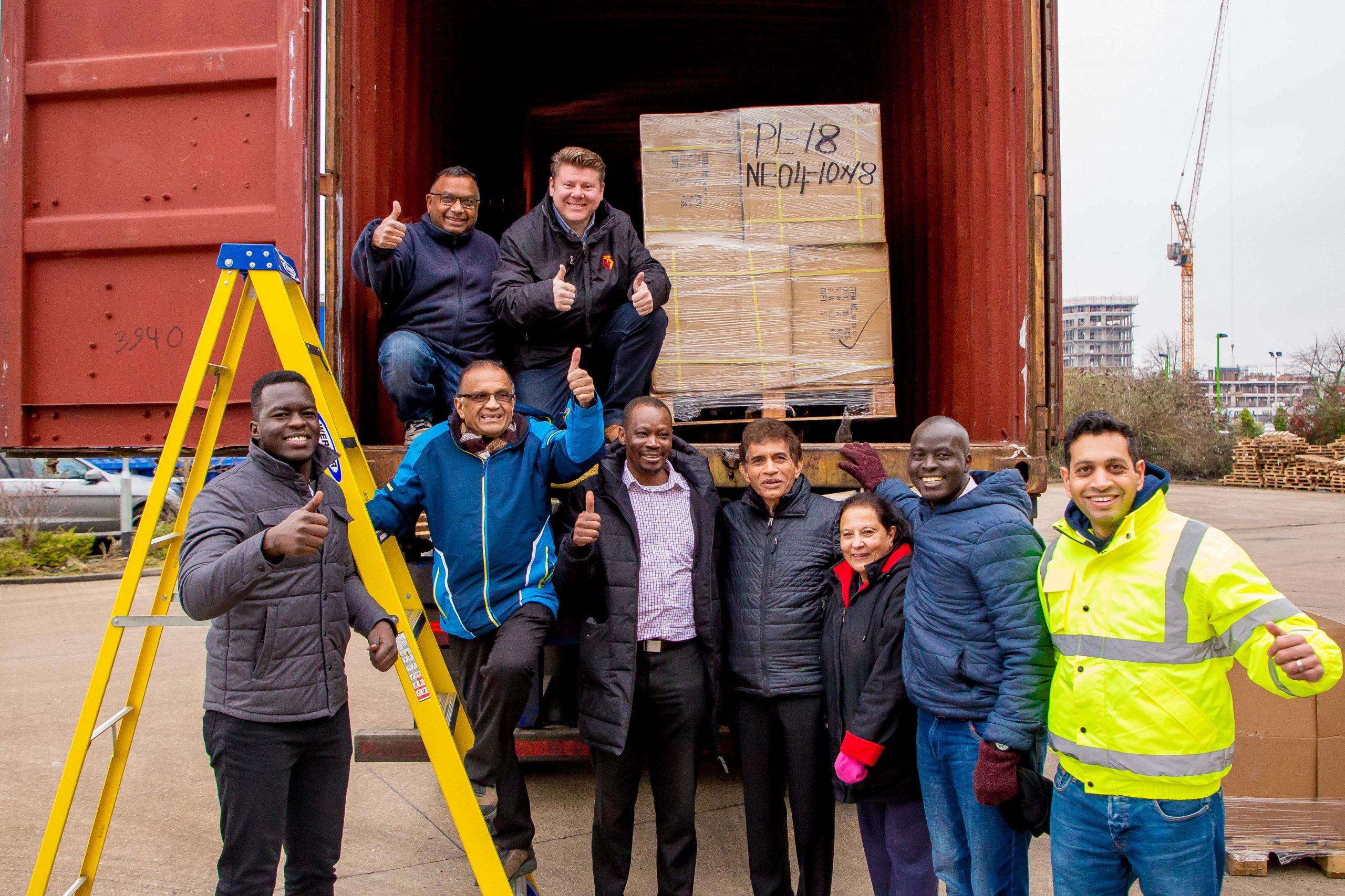 Sigma Pharmaceuticals Plc Donate to Medaid UK for Northern Uganda