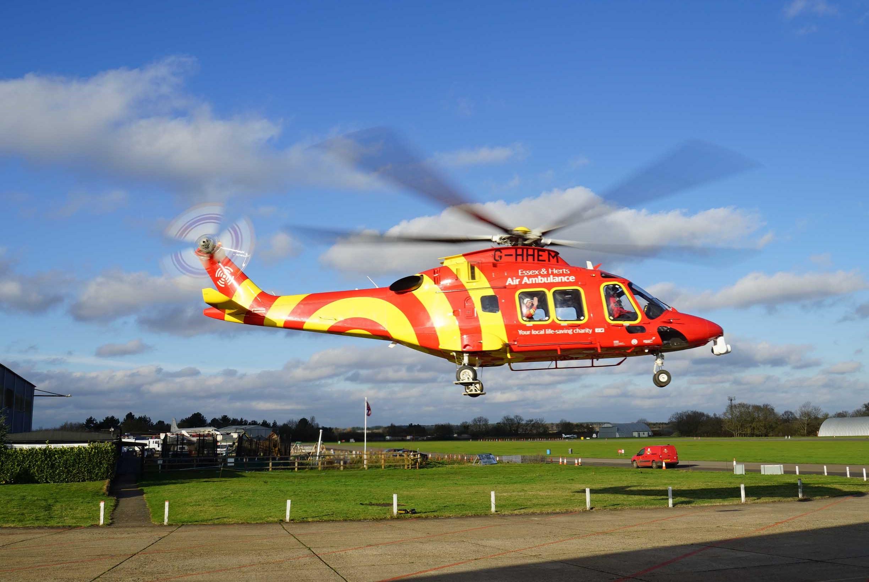 Sponsorship for Essex & Herts Air Ambulance Service